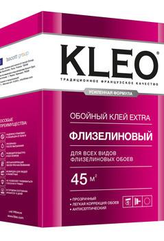 Клео EXTRA 45 клей обойный для флизелиновых обоев 45кв.м.320г/20/