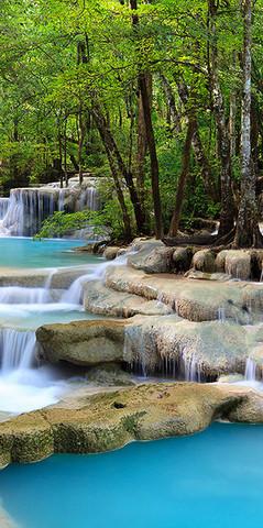 С-016 Волшебный водопад 300*270 ФОТОПАННО