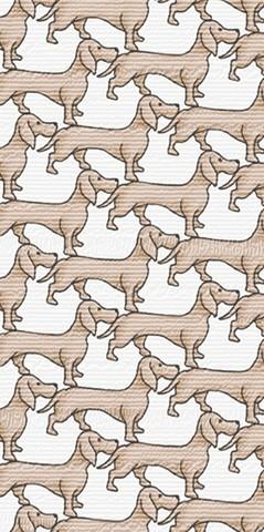 2102-3RTI Обои Did Trend Собачки горячего тиснения на флиз.осн.1,06*10м/DID/Корея