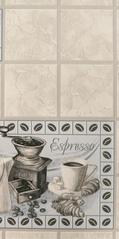 90420 обои Кофе кухонный винил мойка на бумажн.осн.0,53*10м/Elysium/к 905710