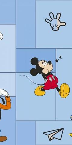 E-D-001B обои Disney компакт.винил на флизелине 1,06*10м/Эрисманн