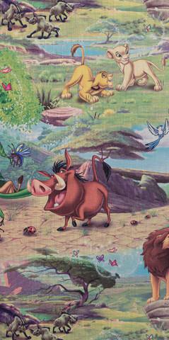 10227-01 Король Лев обои винил горячего тиснения на флиз.осн.1,06*10м OVK Design Disney /Артекс
