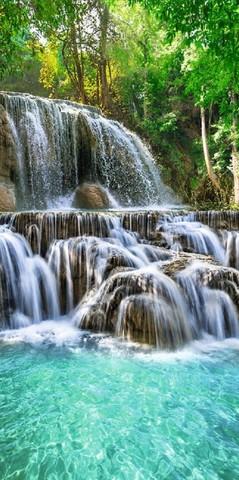 Хрустальные водопады Фотообои VIP 196см х 260см Тула