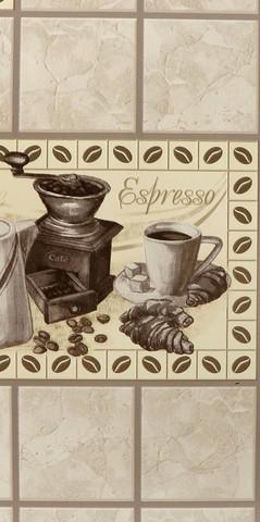 90422 обои Кофе кухонный винил мойка на бумажн.осн.0,53*10м/Elysium/к 905712