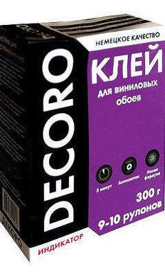 Клей для винил.обоев Decoro PRO 250гр 9рул