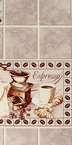 90423 обои Кофе кухонный винил мойка на бумажн.осн.0,53*10м/Elysium/к 905713